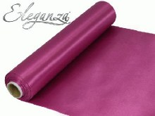 Eleganza satin fabric (29cm x 20m/Rose Pink)