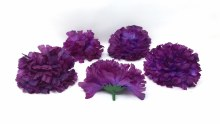 Carnation Heads 24 Dz Purple