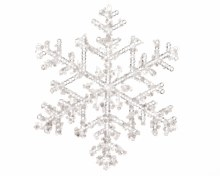 plc snowflake w spangle finish