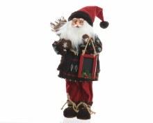 pes Santa w blackboard