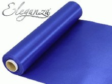 Eleganza satin fabric (29cm x 20m/Royal Blue)