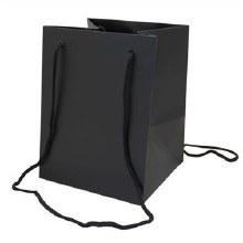 Hand Tied Bag Black (19x25cm)