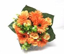 Bush Gerbera/Rose Bud Protea Orange x22