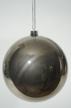Baubles 20cm (x1) Deep Gray
