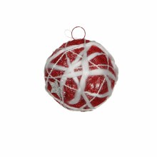 ORNAMENT BALL D12 RED