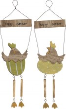 Easter Hang Decor Chicken Happy Easter