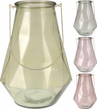 TEALIGHTHOLDER GLASS 26X37CM