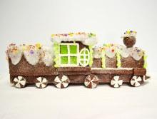 Christmas Train Brown