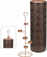 Tealightholder (49cm/Black)