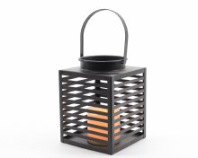 LED metal beach lantern