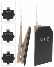 Clip with board (11x15cm/4 assorted)