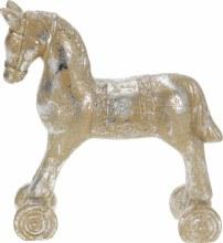 ROCKINGHORSE CERAMIC WITH GOLD