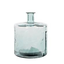 BOTTLE GUAN GLASS H44D35 TRANS