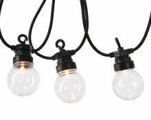 LED clear globe st.kit out GB