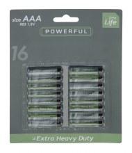 Batteries Aaa 16 On Card