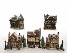 LED village set shop bo theme