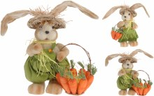 Rabbit boy and girl (41cm/2 assorted)
