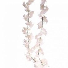 Artificial Blossom Garland White (210cm)