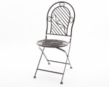 iron chair foldable