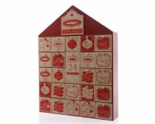 MDF advent calendar house