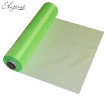 Soft sheer organza (290mm x 25m/Lime green)