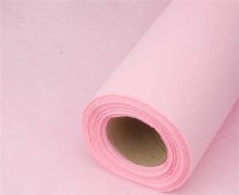 Spiders web fabric wrap (600mm x 25m/Pale pink)