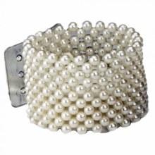 Large Pearl Bracelet  Ivory (4cm)