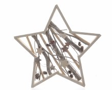 MDF star frame with branches