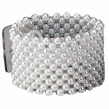 Large Pearl Bracelet White (4cm)
