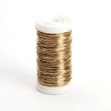 Metallic Wire Gold 0.5mm 100g
