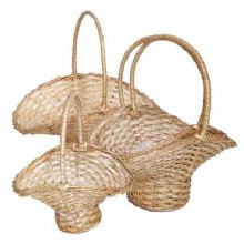 S/4 Willow Bridesmaids Baskets