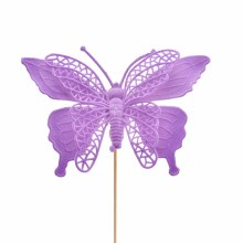 Pick Butterfly Max Purple (16x50cm)