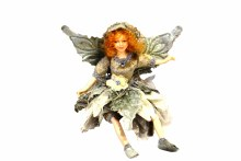 """9"""" Flower Fairy Taupe"""
