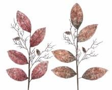 plc leaf spray w glitter 2clas