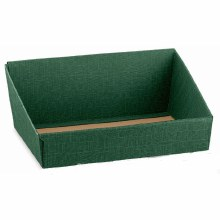 Green Tray - Vassoio Seta Verde (31x24x10.5cm)