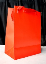 Carrier Bag Small Red x20 (10x18x23cm)