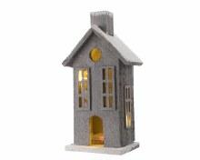 LED grey wooden house ind bo
