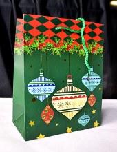Christmas Bags 32cm x 25cm Gre
