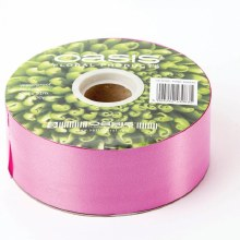 Poly Ribbon Satin Cerise