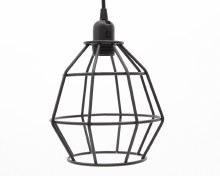 iron pendant light thread