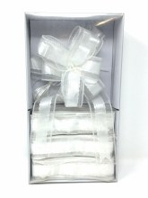 Wedding Pull Bow White