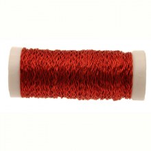 Bullion Wire - Red