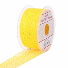 Web Ribbon 50mm Yellow
