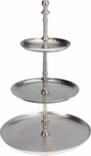 Cakestand aluminium (30x54cm/Aluminium)