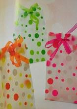Matilde transparent Bags Orange X5