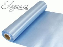 Eleganza satin fabric (29cm x 20m/Baby blue)