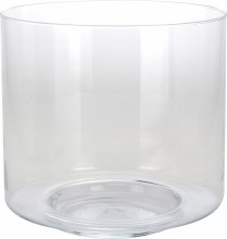 Vase Glass Straight Model Dia