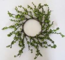 Berry Wreath Green 40cm