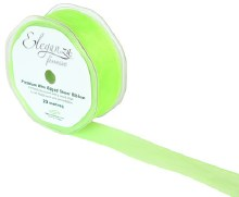 Finesse wired ribbon (32mm x 20m/Light green)