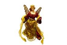 "14"" Flying Angel Burgundy Gold"